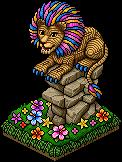 bloemen-leeuw